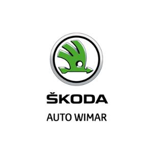 skoda auto wimar logo zielone