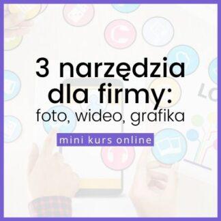 Kurs online - zacznij tworzyć banery, ulotki i grafiki