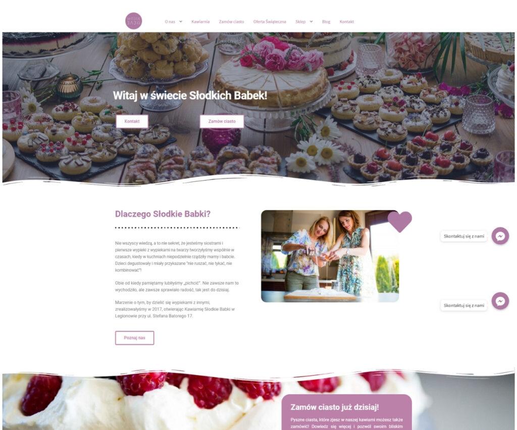 Agencja reklamowa - strona internetowa dla restauracji