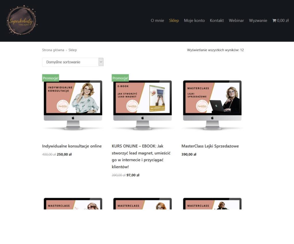 Agencja reklamowa - sklep online